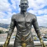 Christiano Ronaldo Statue